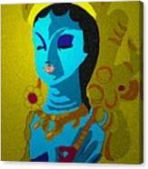 Lakashimi Gold Canvas Print