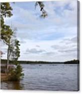 Lake 395 Canvas Print