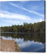 Lake 399 Canvas Print