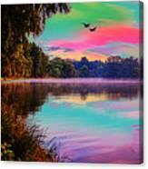 Lake 5 Canvas Print