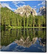 Lake Antorno Canvas Print