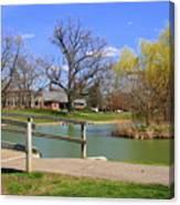 Lake At Schiller Park Canvas Print