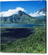 Lake Batur Canvas Print