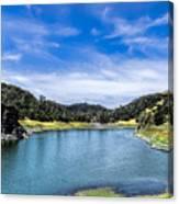 Lake Berressa Under Bridge Canvas Print
