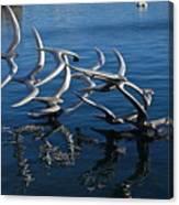 Lake Birds Canvas Print
