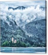 Lake Bled In Clouds Photograph By Norman Gabitzsch
