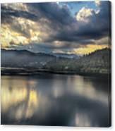 Lake Bled Sunset Canvas Print