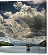 Lake Blue Ridge Canvas Print