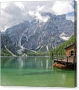 Lake Braies Canvas Print