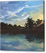 Lake Bridgeland Canvas Print