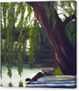 Lake Carmel Landscape Canvas Print