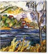 Lake Casitas IIi Canvas Print
