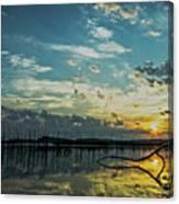 Lake Champlain Vermont Sunrise - 2 Landscape Canvas Print