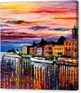 Lake Como - Bellagio  Canvas Print