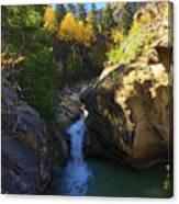 Lake Creek Falls Canvas Print