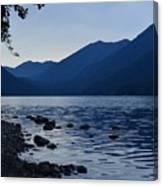 Lake Crescent Canvas Print