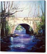 Lake District Bridge Canvas Print