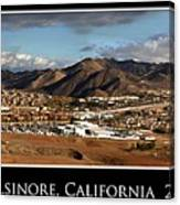 Lake Elsinore 2008 Canvas Print
