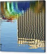 Lake Eola Reflections Canvas Print
