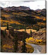 Lake Fork Of The Gunnison Canvas Print