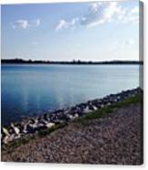 Lake Front Canvas Print