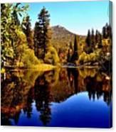 Lake Fulmor - Idyllwild, Ca Canvas Print