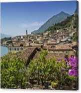 Lake Garda Limone Sul Garda Canvas Print