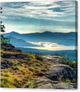 Lake George From Cat Mountain 1 Canvas Print