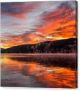 Lake George Sunrise Canvas Print