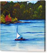Lake Glenville  Sold Canvas Print