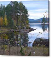 Lake Gustav Adolf Sweden Canvas Print