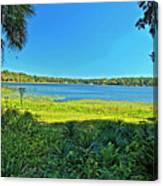 lake Hall in Spring Canvas Print