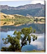 Lake Hayes New Zealand Canvas Print