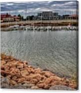 Lake Hefner Dock Canvas Print