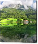 Lake Hintersee Canvas Print