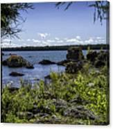 Lake Huron Cedarville Michigan Canvas Print