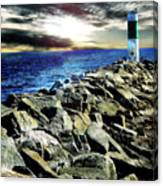 Lake Huron Lighthouse Canvas Print