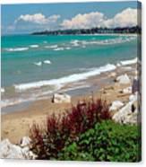 Lake Huron Ontario Canvas Print