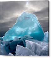 Lake Ice Berg Canvas Print
