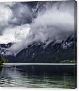 Lake In The Julian Alps Slovenia 1  Canvas Print