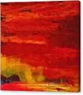 Lake Isle Of Innisfree Three Canvas Print