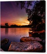 Lake Kirsty Twilight Canvas Print