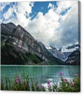 Lake Louise Day One Canvas Print