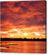 Lake Loveland Sunrise Canvas Print