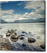 Lake Mcdonald - Glacier National Park Canvas Print