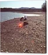 Lake Mendocino Canvas Print