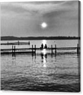 Lake Mendota In Madison Canvas Print