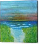 Lake Michigan Sunrise 02132016 Canvas Print