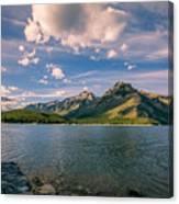 Lake Minnewanka Banff II Canvas Print
