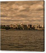 Lake Monona Skyline Canvas Print